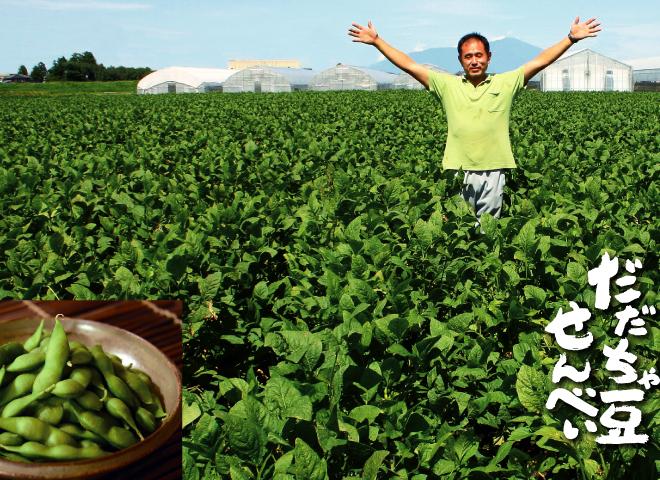 だだちゃ豆は正直な作物なんです 手間暇かけた分だけ美味しくなる