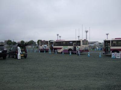 臨時バス乗り場